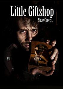 """Werbeplakat von """"Little Giftshop"""""""