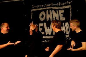 """Szenische Aufnahme von """"Improtheater"""""""